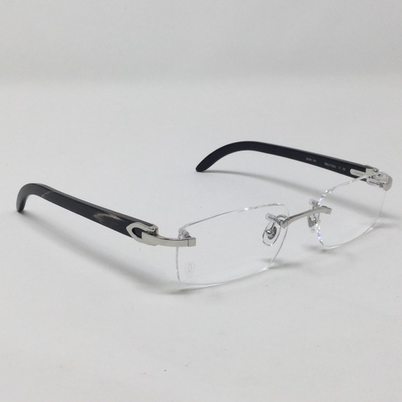 a79aacae4e97 Cartier horn prescription glasses